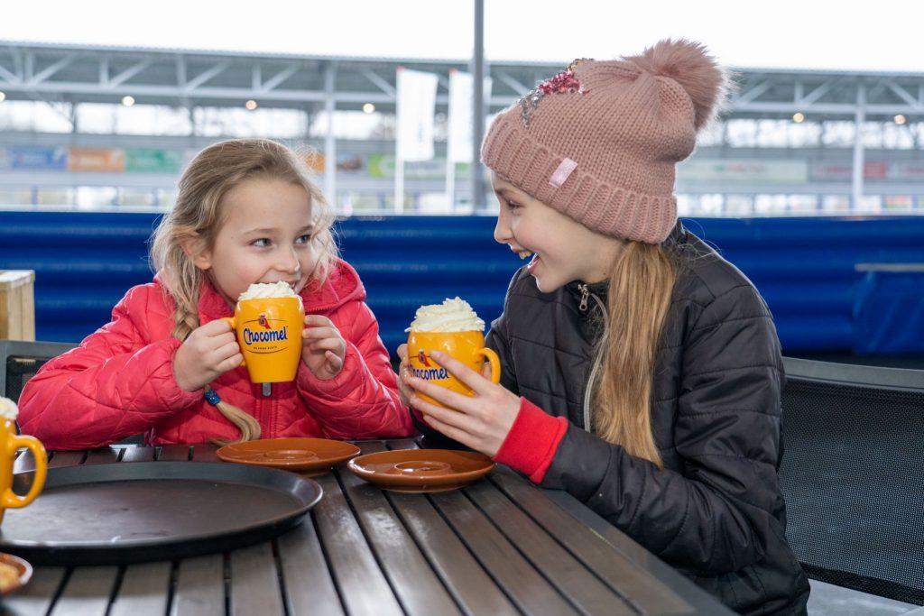 Kinderfeestje op ijsbaan De Meent