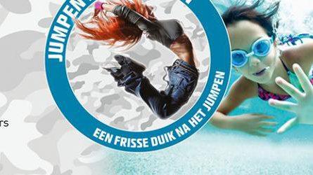 Jumpen en zwemmen