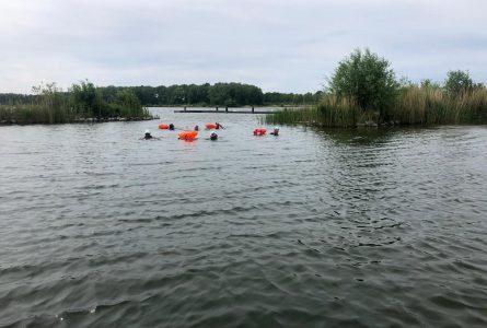 Open Water Swim Borstcrawl