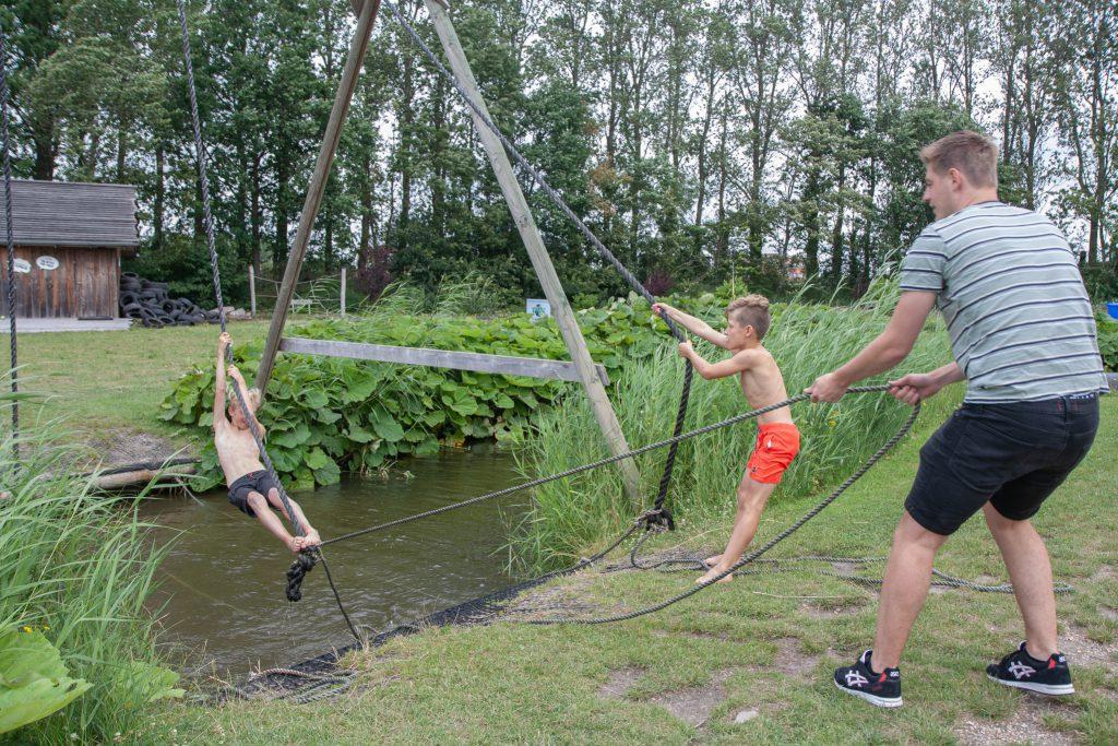 Ouder en kindklimmen Outdoorpark Alkmaar