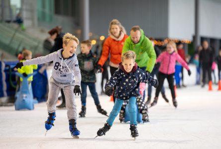 Schaatsen op de ijsbaan